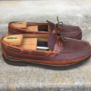 VGC-L L Bean Twi tone brown leather